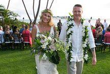 Nicole + Dustin: Boho Maui Wedding