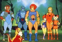 Cartoon / Desenhos animados, animes, anos 80 e 90