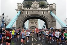 London Marathon / The London Marathon is one of the biggest running events in the world, it's tough...so here's some 'pin-spiration'.