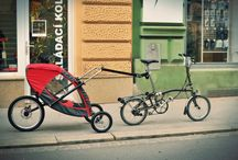 Na návštěvě v Cyklospeciality.cz / Testovali jsme naši jednokolku v Brně za skládacím kolem Brompton.