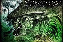 Django de la Poppavati Art by ipi / Kuvitustaidetta.  Drawings and pictures by Ipi