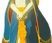 Princess Zelda blue dress