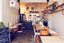 レストランのインテリアデザイン