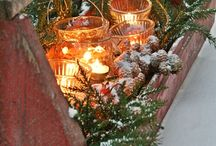 Holiday Ideas- Christmas Centrepieces & Table Settings