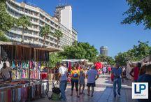 Las Palmas / Kaupunkitunnelma sekä rantaloma