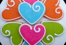 Valentine's day sugar cookies / Valentine's day sugar cookies for all those sweeties in your life ;)