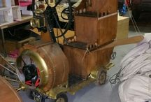My Steampunk Vehicles