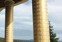 Villa Sarıyer Dekoratif Kapıları / Proje, titiz bir çalışmayla mimari çizimleri, üretimi ve uygulaması 2D Yapı tarafından hazırlandı.