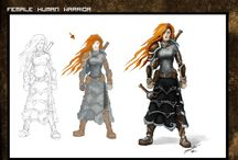 Fantasy Armors / Armor and weapons. Both historical and fantasy. Some sci-fi stuff as well.