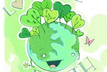 Earth Day / RRR Theme / Preschool, kindergarten, early elementary theme / unit curriculum, crafts, songs, finger plays, printables, games, math, science, ideas.