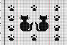 crossstitch cat