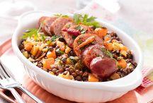 50 recettes à base de légumes secs / On les adore dans nos soupes et nos plats mijotés. Riches en protéines et fibres, les légumes secs sont nos meilleurs alliés de l'hiver. Nos meilleures recettes à base de légumes secs sont ici !