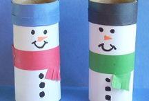 Snowmen crafts / by Lori Olson