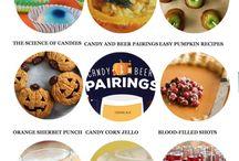 Halloween Food Ideas + Halloween Recipes