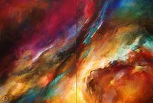 Michael Lang painting