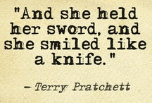 terry pratchett. <3