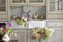 Summer Cottage Style  / Focusing on fabric, colors, & furniture of summer cottage interiors.