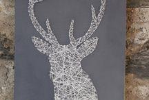 Nail and thread / Nail and thread art
