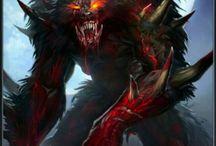 fantasy monster art