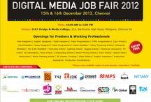 digtal media job fair-2012