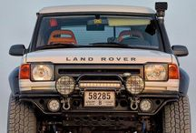 Land rovers