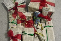 upcycled newspaper
