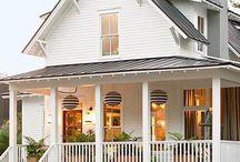 Hjem /terrasse og overbygg