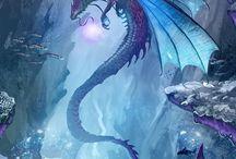 dragones de mar