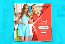 Sale Instagram banner (Deal of the day)