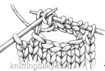 Knit buttonhole