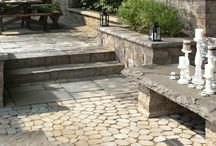 Techo-Bloc Pavers / Unlimited possibilities and unique products make Techo-Bloc's line of Pavers stand out.  Come and browse our Techo-Bloc outdoor display.