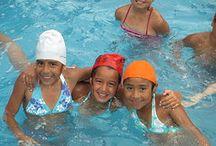 natación niños viña