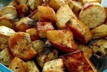 Batatas doce assada
