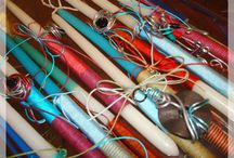 Easter Candles 2014 / Οι λαμπάδες είναι μόνο για παιδιά!; Σίγουρα θα χρειαστεί να αναθεωρήσετε μόλις δείτε τις ειδικά σχεδιασμένες λαμπάδες #Play, στολισμένες με μοναδικά χειροποίητα κοσμήματα!  Υποδεχθείτε το Πάσχα με *παιχνιδιάρικη* διάθεση