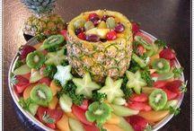 Frutas decorativas