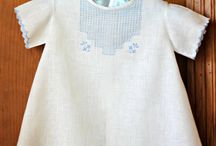 Vintage, gown, shirt or blouse for baby