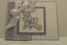 Cards - Stampin Up Happiness Shared