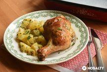 csirkés és szárnyas receptek