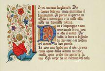 miniature medievali