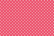OUR FABRICS: Stars / A collection of fabrics available in our online store www.birdyandblue.co.uk  Fabrics for a bright little nest!  Use code PIN15 for 15% off!