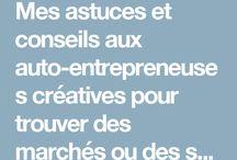 Avoir une micro-entreprise créative / Avoir une micro-entreprise est un projet enthousiasmant au quotidien voici mes astuces et conseils pour celles qui débutent ou voudraient se lancer !