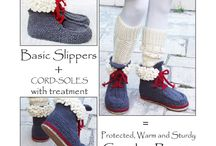 scarpe lana adulto
