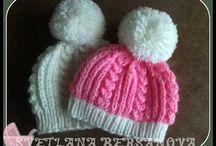 novorodenec čiapky