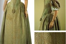 Restoration extant dress
