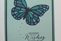Butterfly Basics/framelits SU! / by Linda Santy
