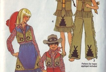 Vintage Sewing Patterns / Vintage sewing patterns I like for their visual appeal / by Debby Reynolds