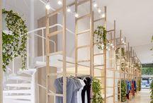 Winkelverlichting & interieur / Sfeerverlichting en functionele verlichting voor in de winkel.