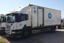 Large fleet livery / Completed the 1st vehicle of the fleet we can provide a free quotation for whatever the size of your fleet call us on 01543 529793...
