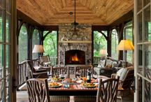 porches + patios / inspiration for outside living spaces
