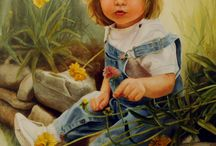 Portraits by Patricia Hargrove- Watercolor / Watercolor Portraits